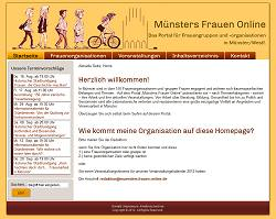 Screenshot Münsters Frauen Online